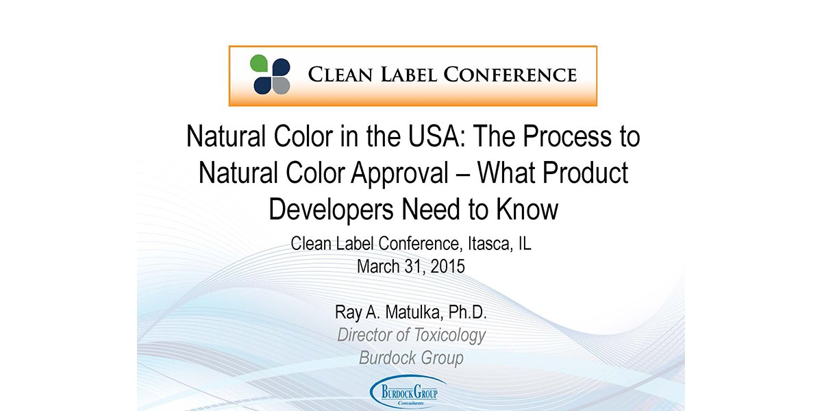 Ray Matulka Natural Color in the USA 2015 CLC