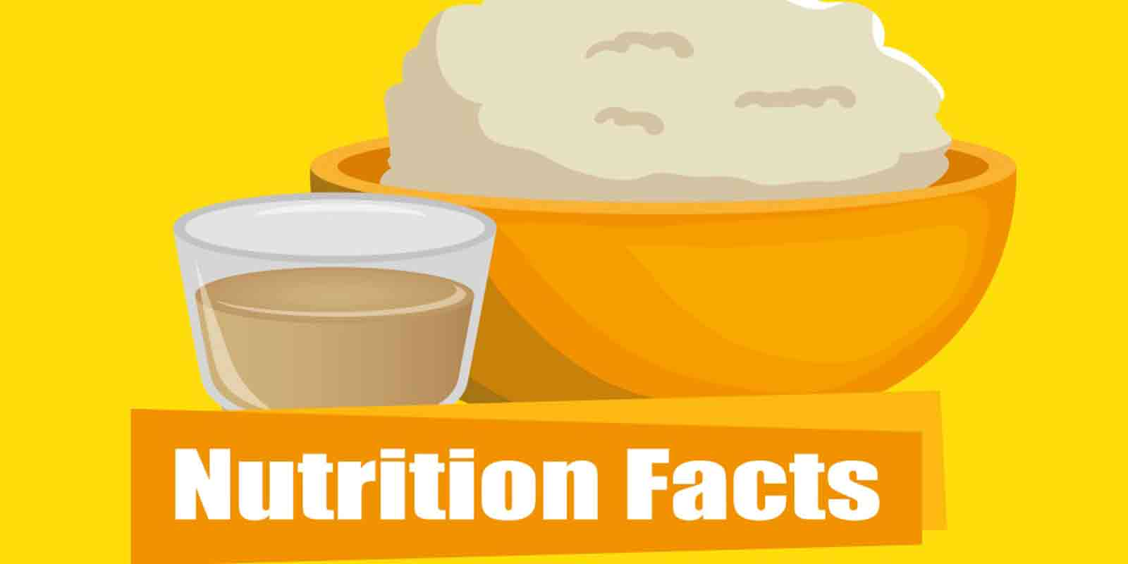 This feature image is a charicature of dairy products with a focus on nutrition facts.l