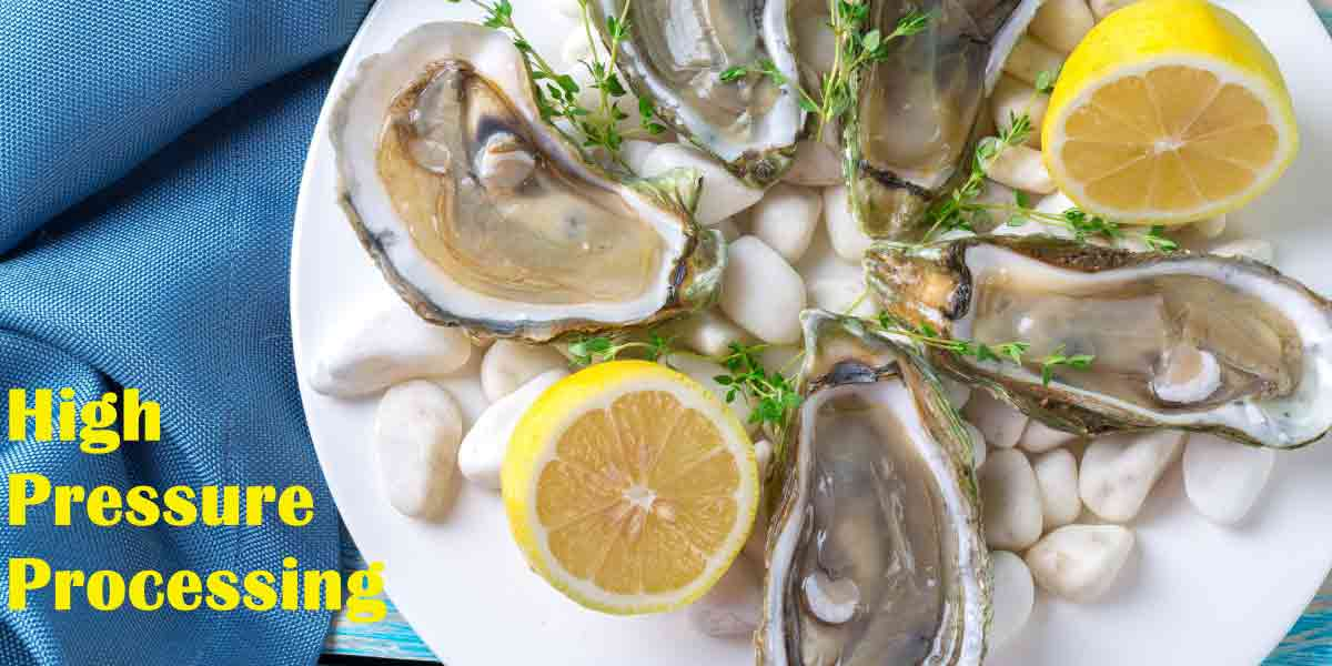 High-pressure processing has been used very successfully in eliminating pathogens, improving yield and minimizing the labor involved in shucking oysters.
