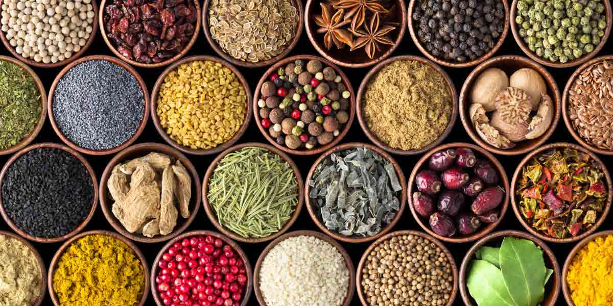 Some spices and herbs have natural antioxidant properties, suitable for use in clean label products.