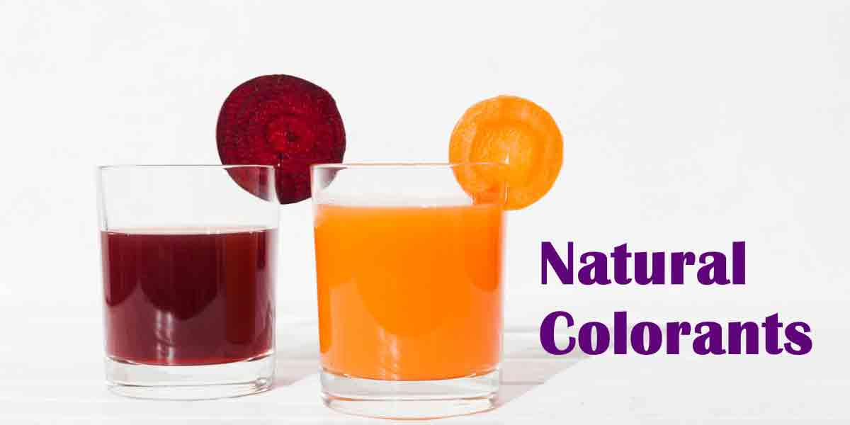 Many fruits and vegetables provide a natural source for colorants, suitable for clean label products.