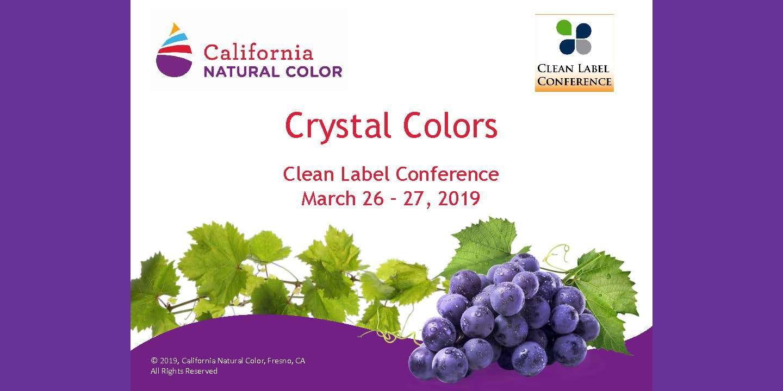 2019 TSS CALIFORNIA NATURAL COLORS CRYSTAL COLORS