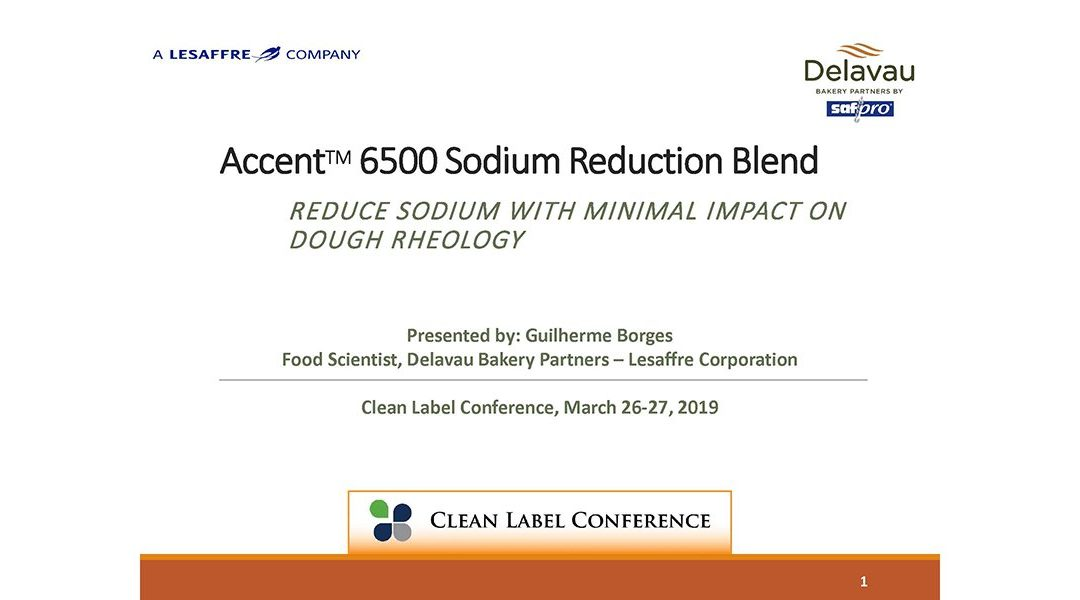 Delavau Accent 6500 Sodium Reduction