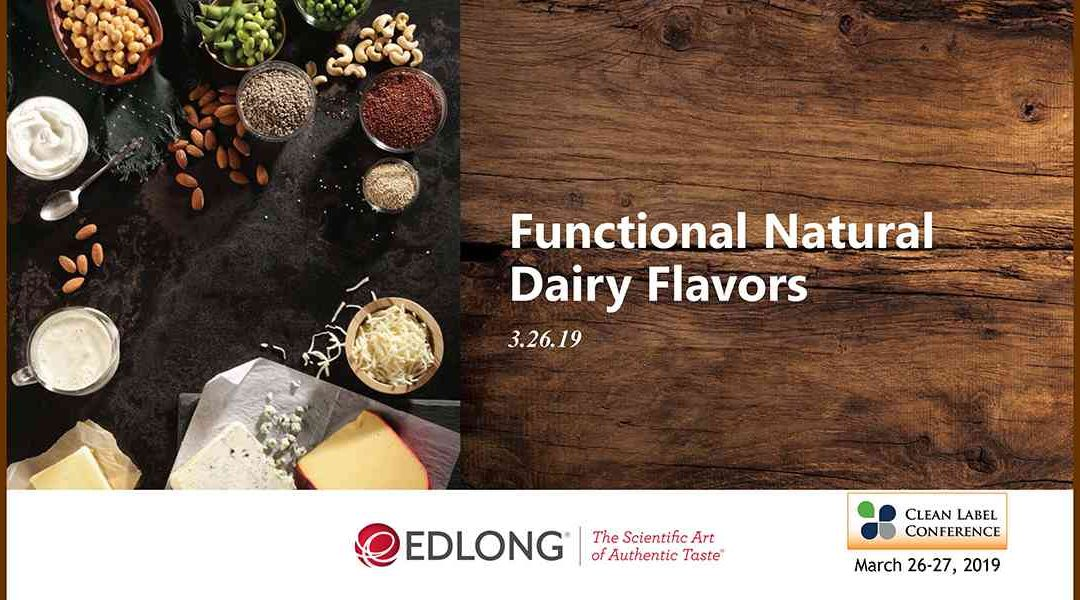Edlong Functional Natural Dairy Flavors