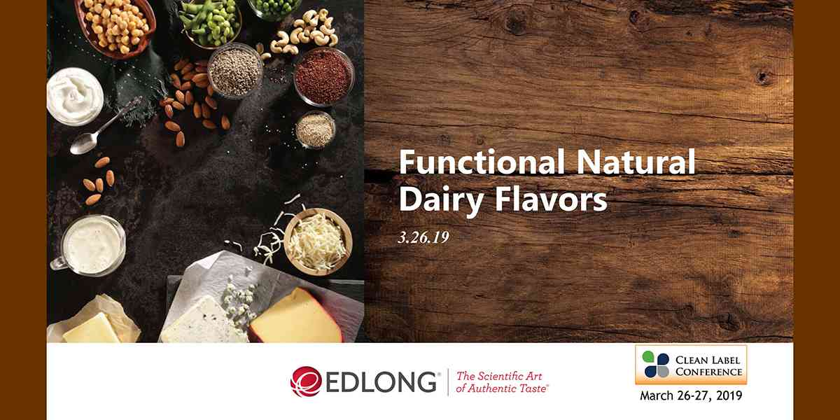 2019 TSS EDLONG FUNCTIONAL NATURAL DAIRY FLAVOR