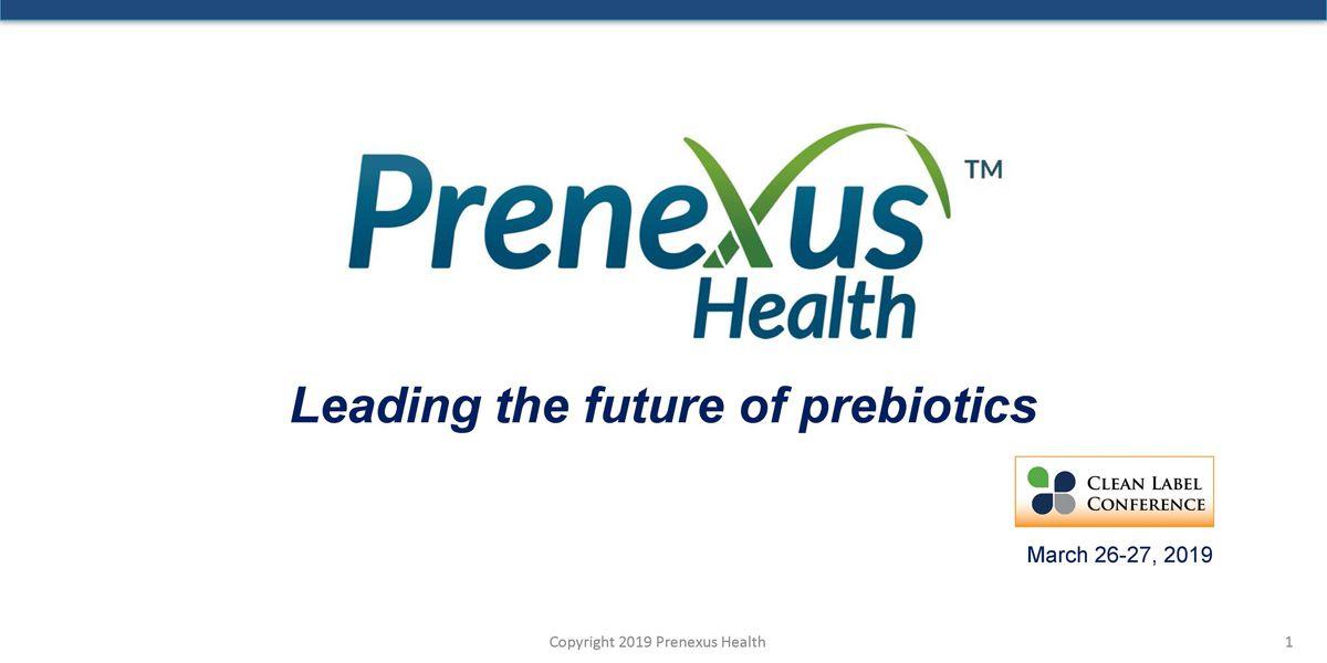 2019 TSS PRENEXUS HEALTH PREBIOTICS