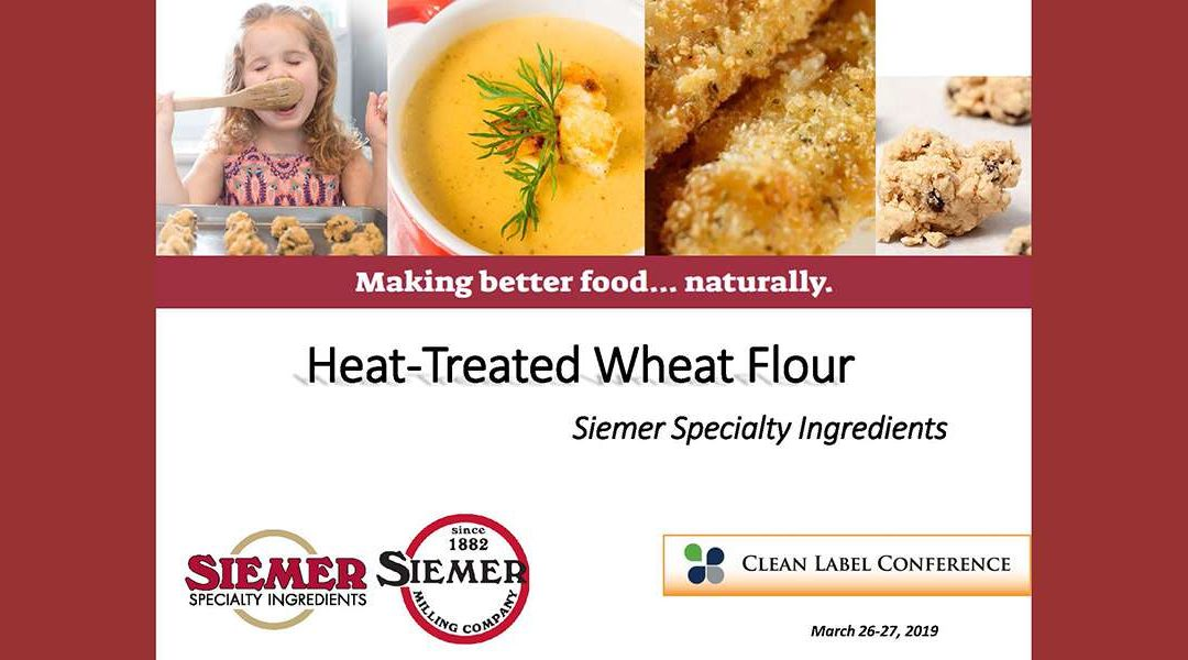 Siemer Specialty Ingredients Heat Treated Flour