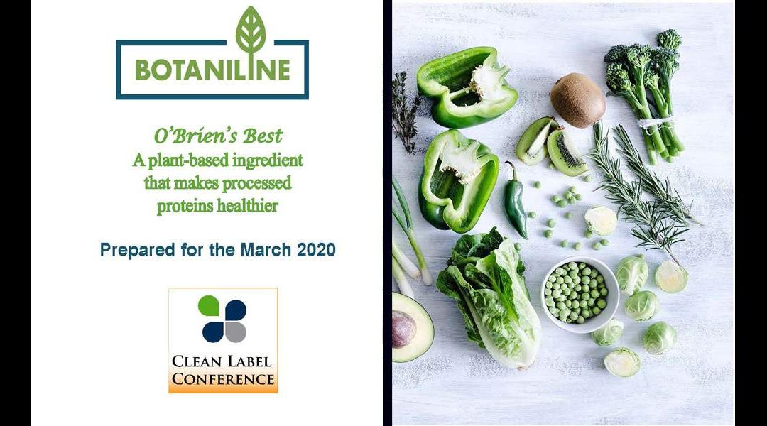 Botaniline – O'Brien's Best Potato Ingredient