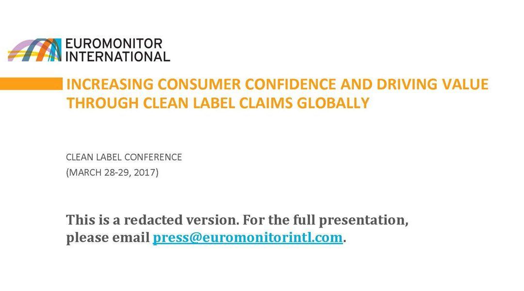 Driving Value via Clean Labeling Presentation
