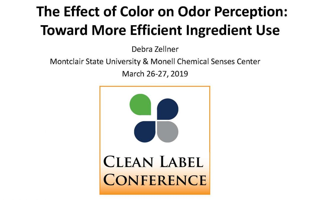 Color's Effect on Odor Perception