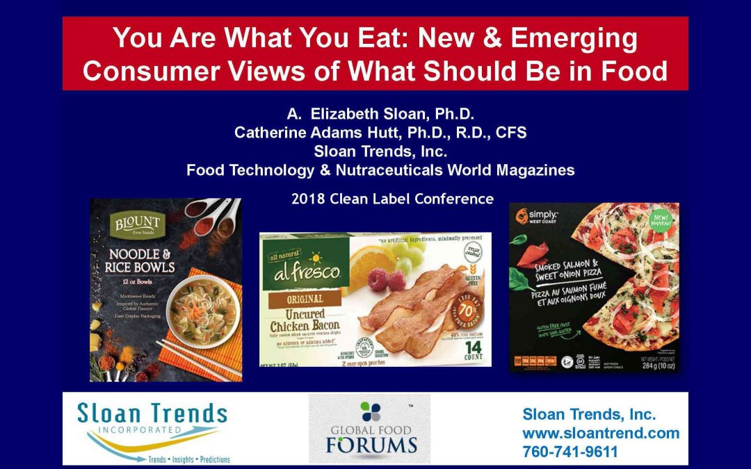 Emerging Consumer Food Trends