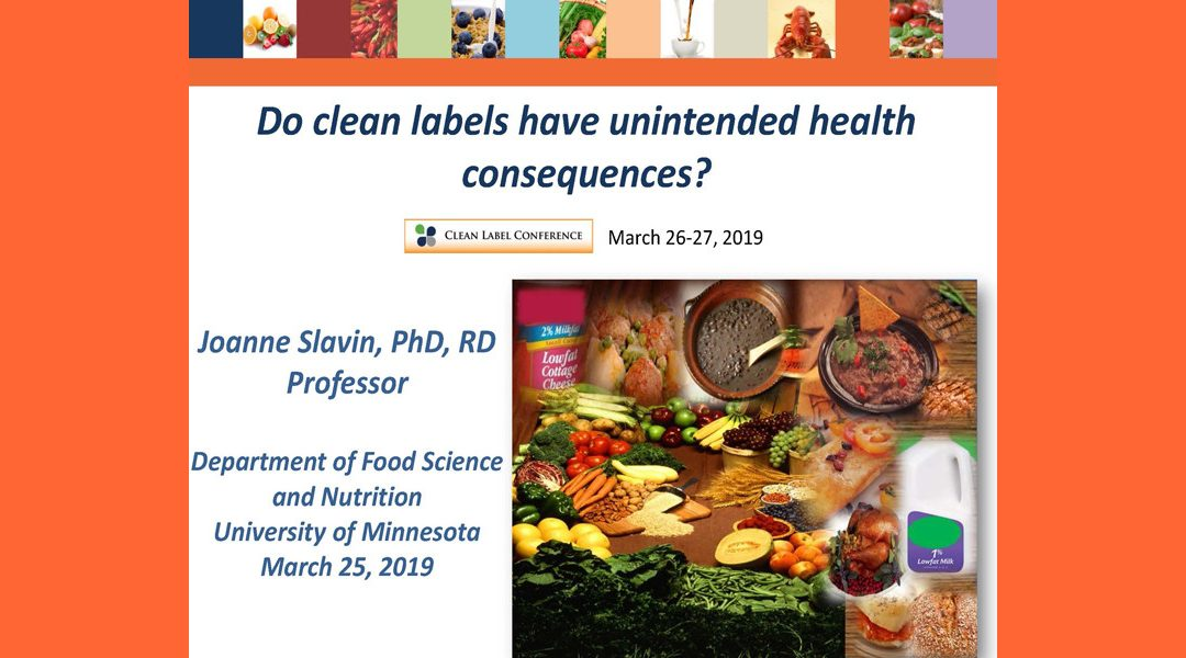 Clean Label vs. Unintended Health Effects