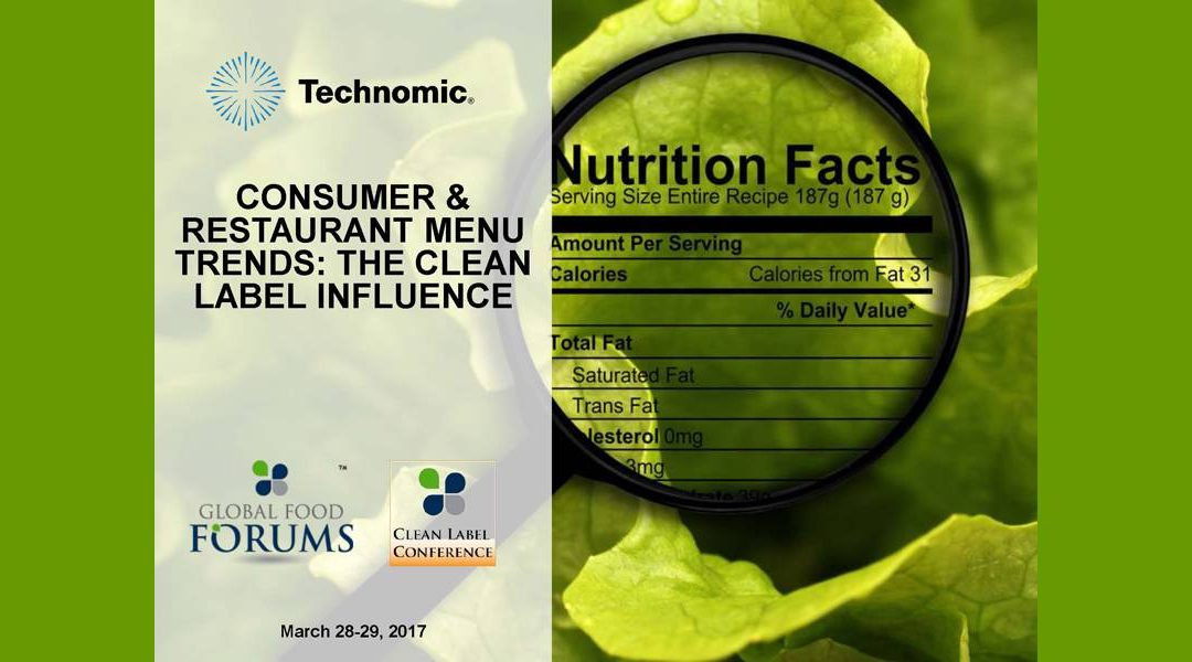 Clean Label Foodservice Trends Presentation