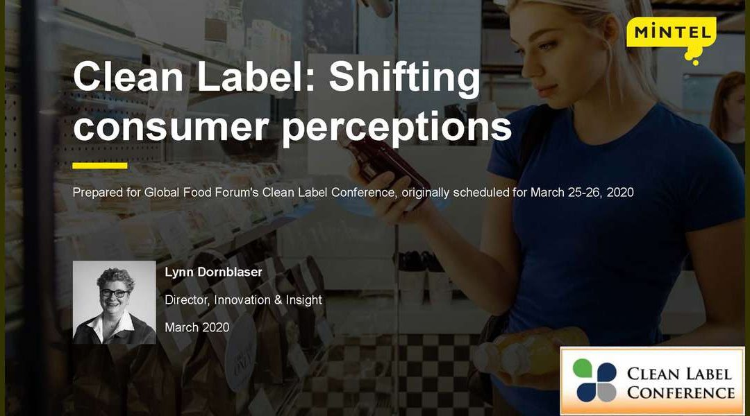 Clean Label: Shifting Consumer Views