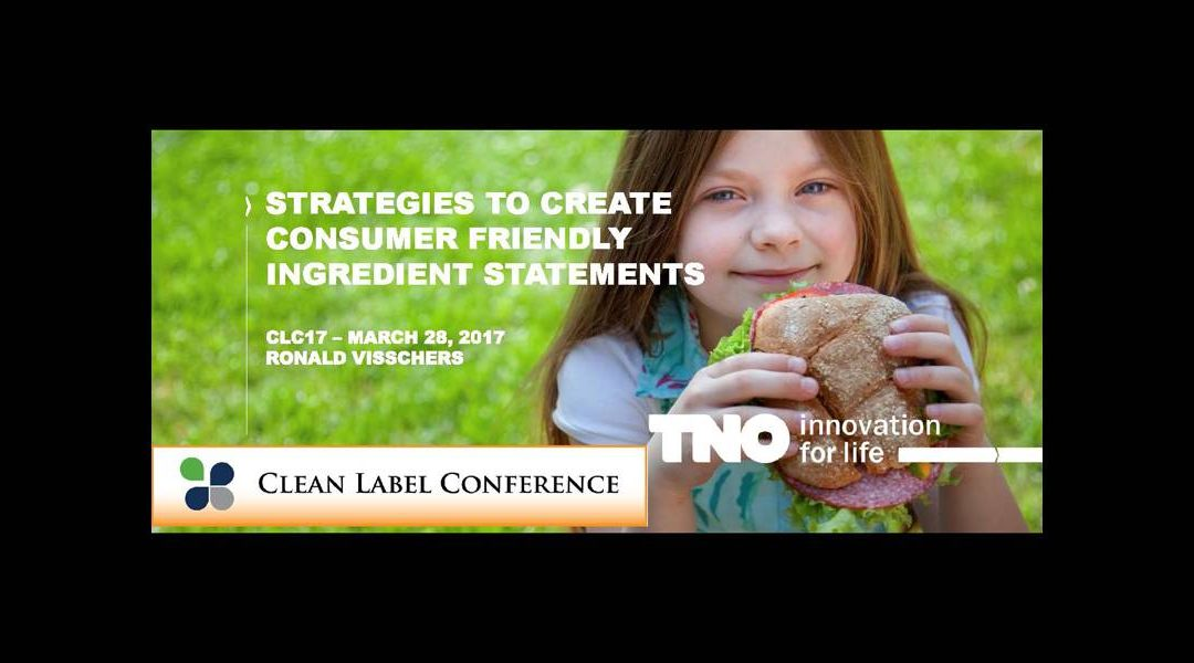 Strategies for Consumer Friendly Labels Presentation
