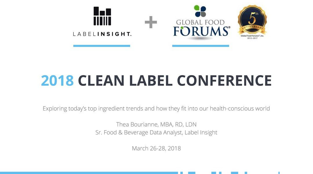 Clean Label Trends Presentation