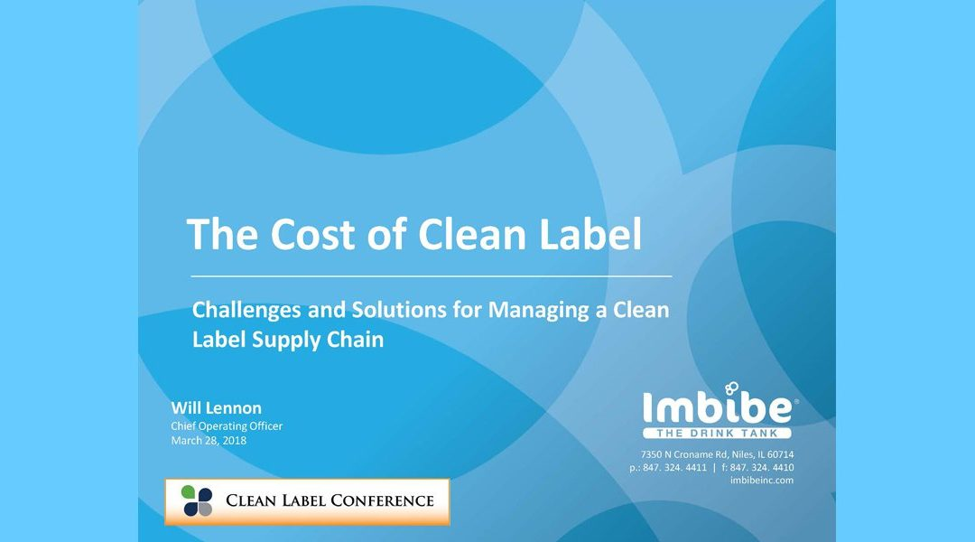 Cost of Clean Labels Presentation