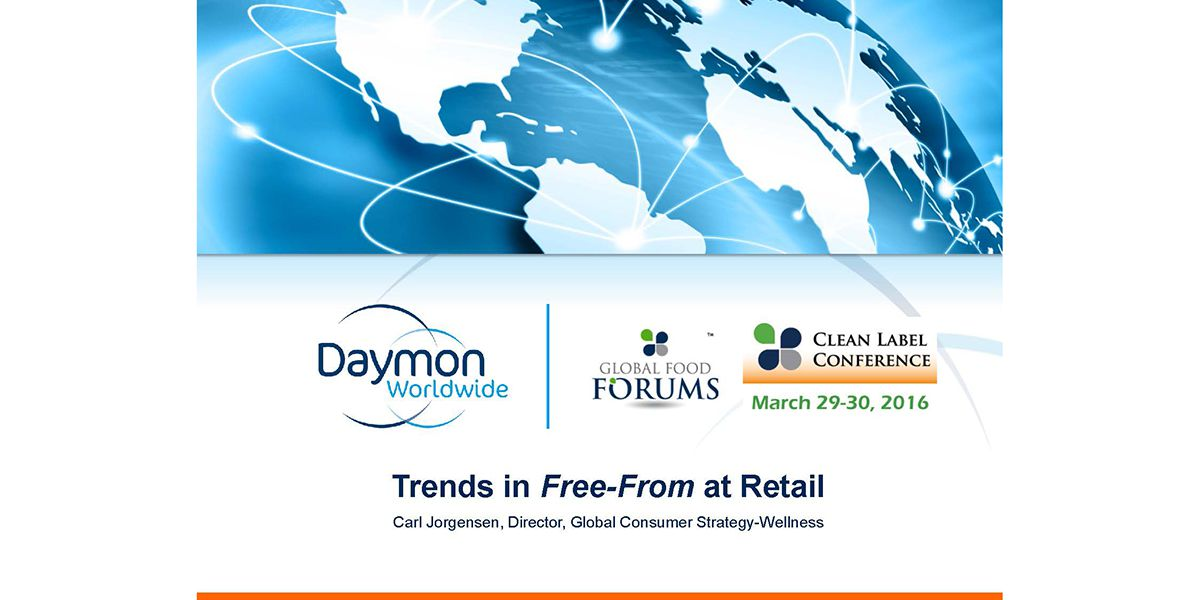 CARL JORGENSEN RETAIL TRENDS IN FREE FROM 2016 CLC