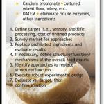 Ingredient Replacement chart--Merlin Development
