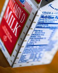 Photo of carton of milk