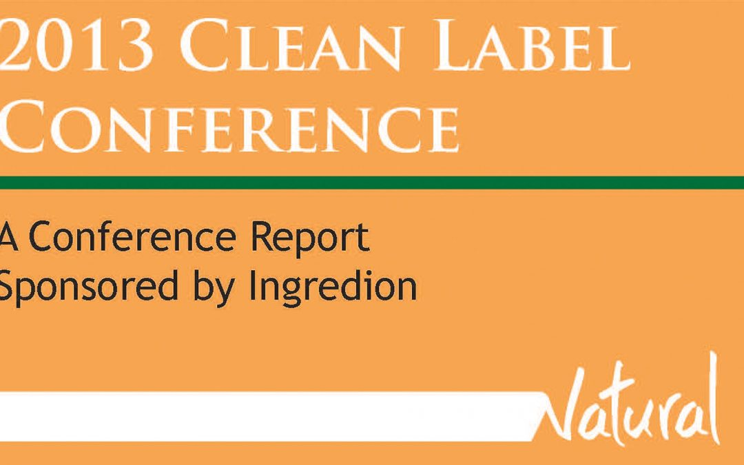 2013 Clean Label Post Conference Magazine