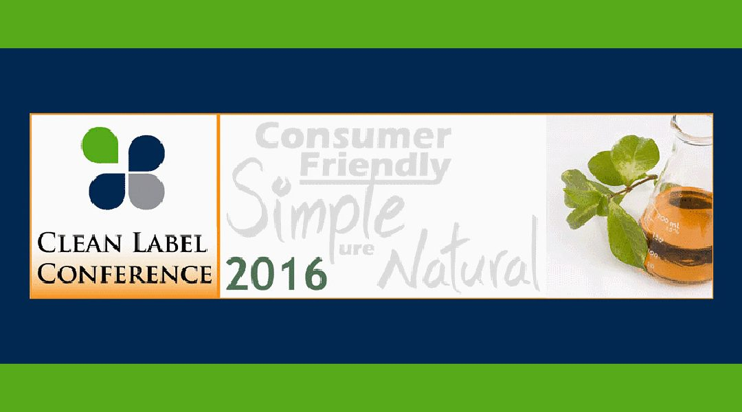 2016 Clean Label Conference