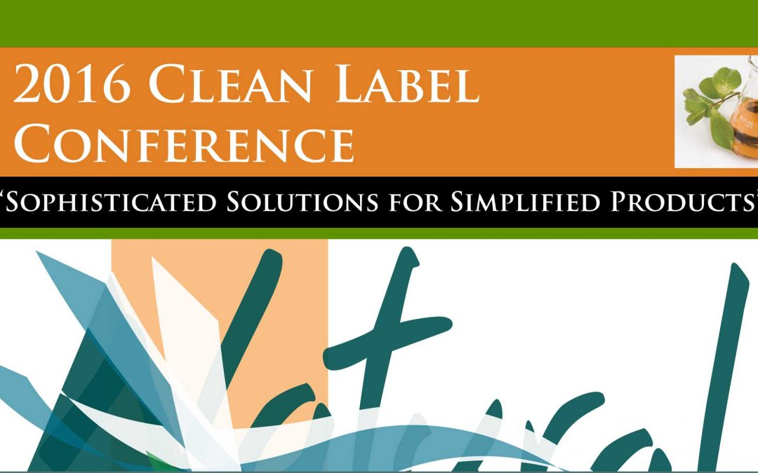 2016 Clean Label Post Conference Magazine
