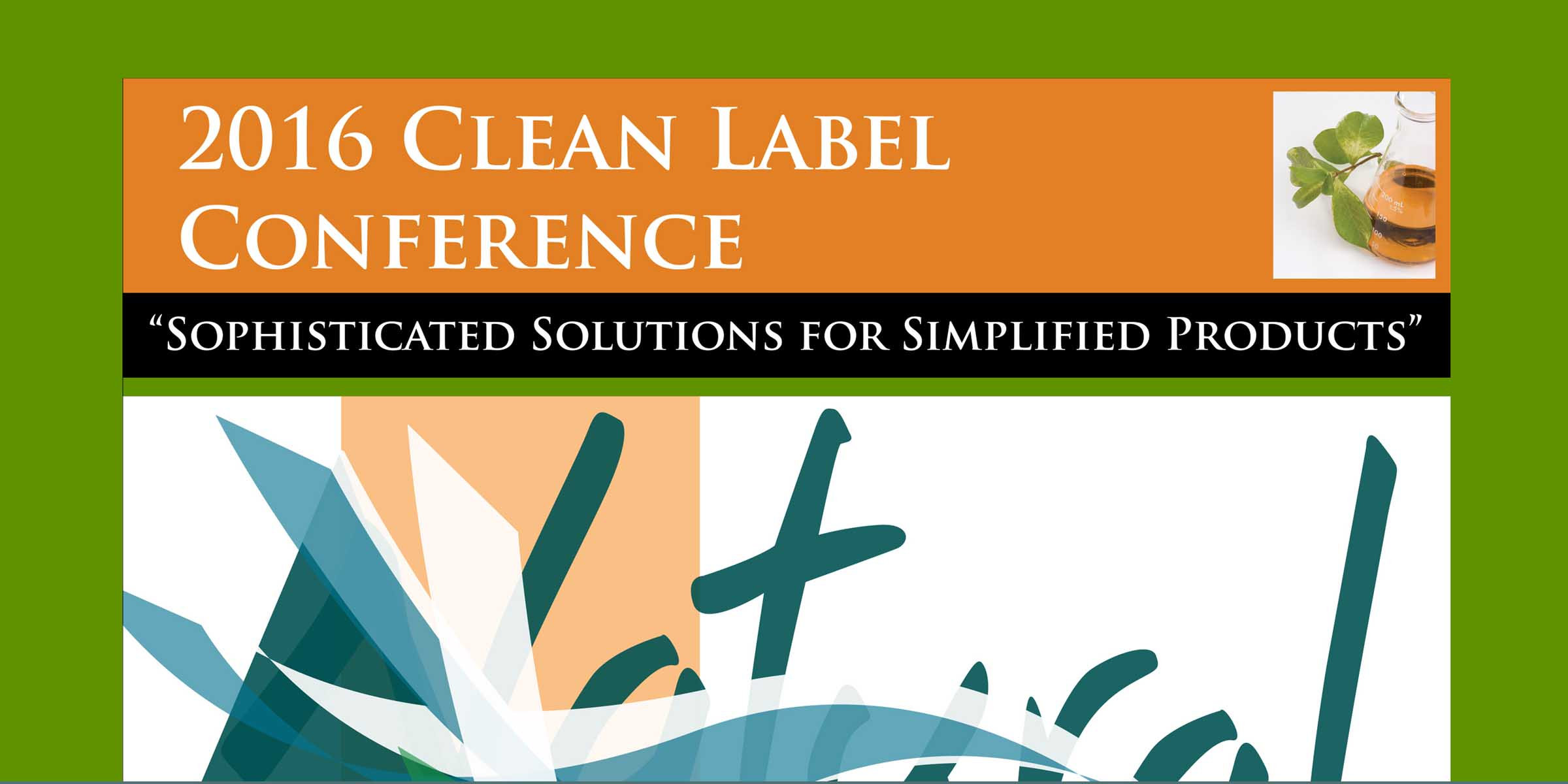 2016 CLEAN Label Post Conference Magazine-FEATURE