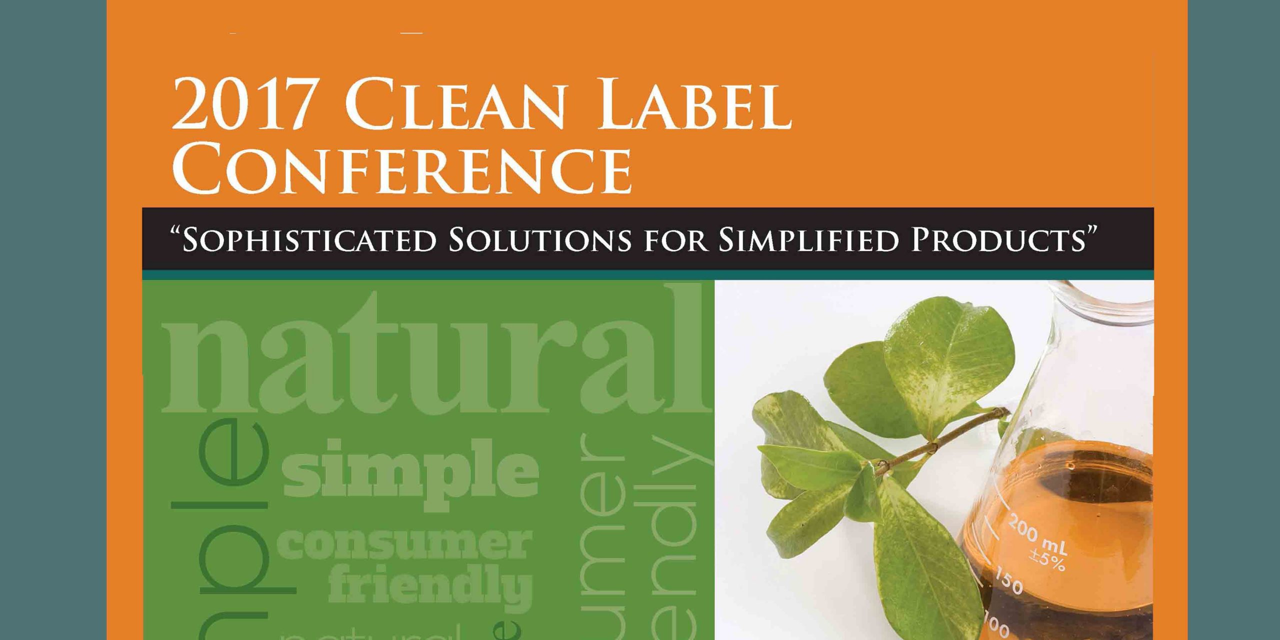 2017 CLEAN Label Post Conference Magazine FEATURE