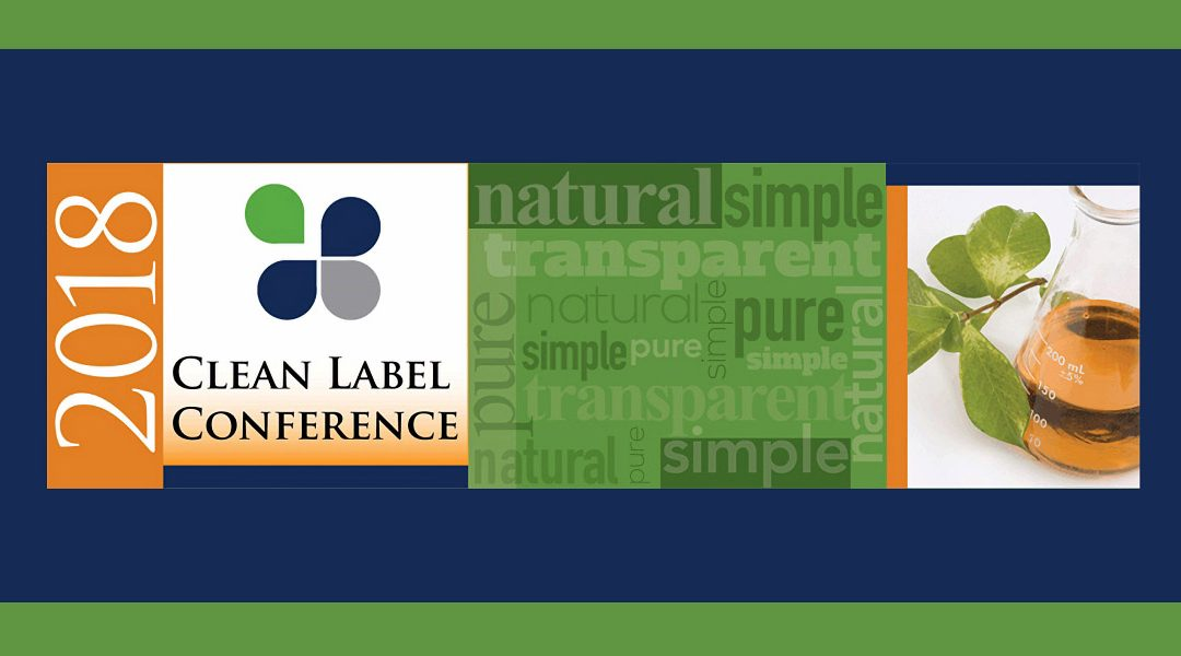 2018 Clean Label Conference