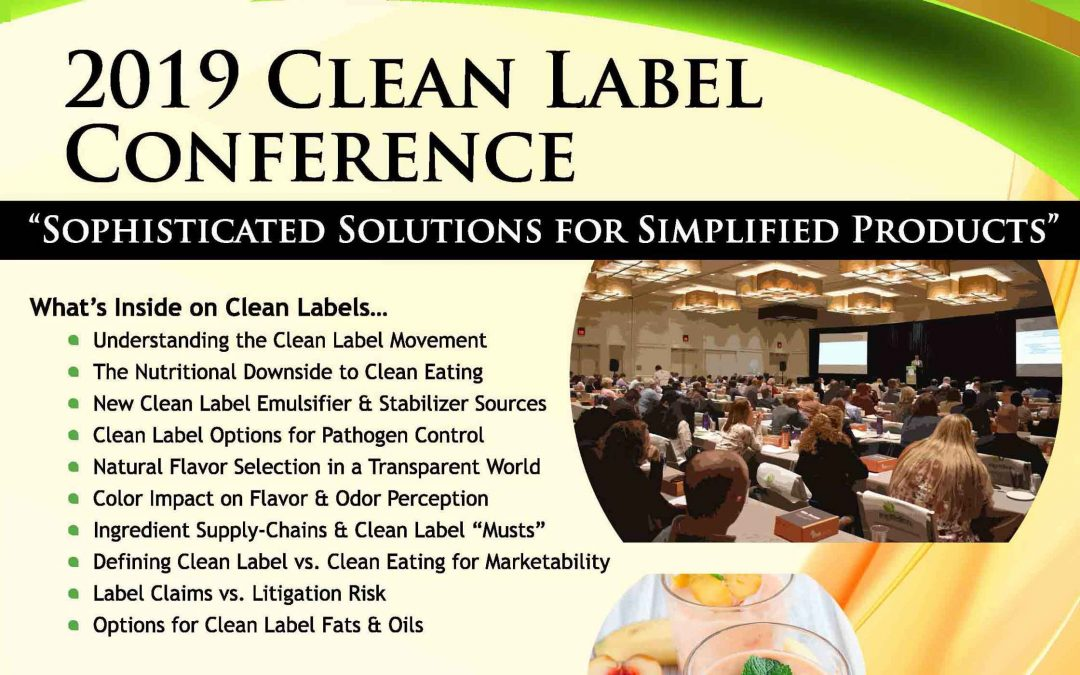 2019 Clean Label Post Conference Magazine