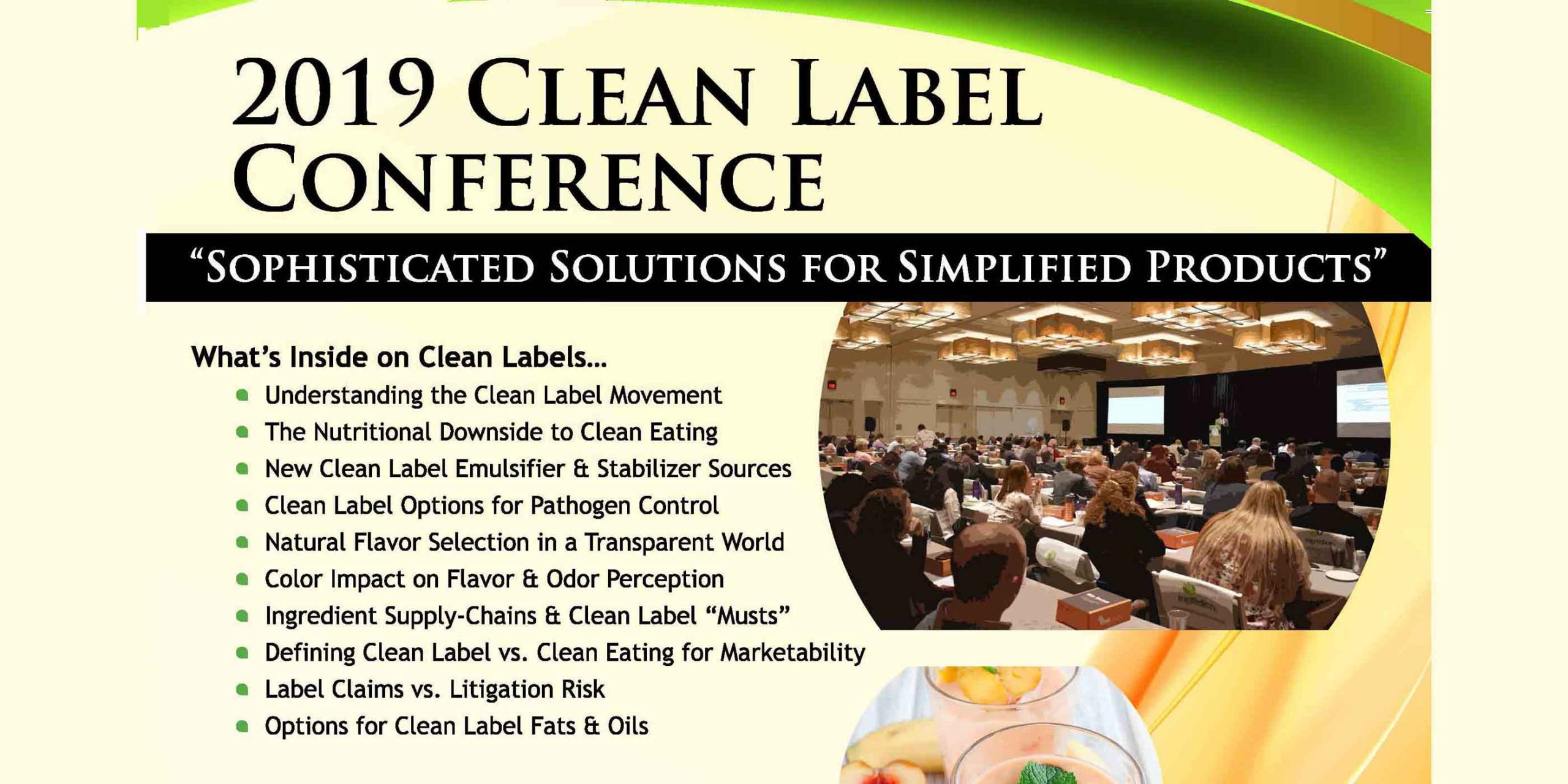 2019 CLEAN LABEL POST CONFERENCE MAGAZINE COVER FEATURE