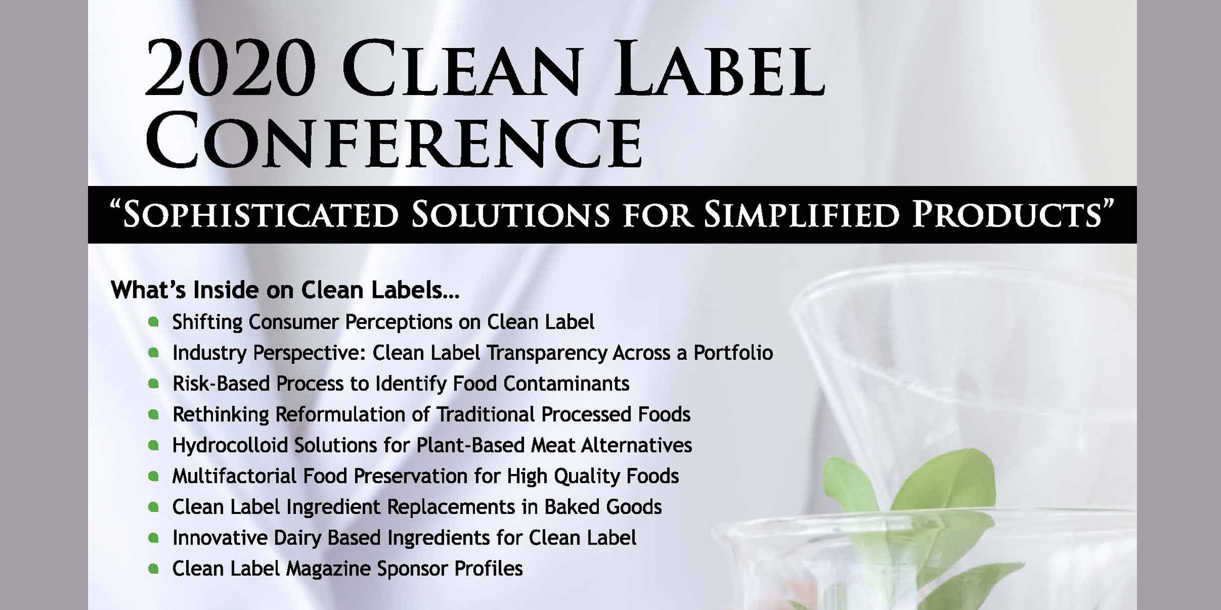 2020 CLEAN LABEL POST CONFERENCE MAGAZINE-FEATURE