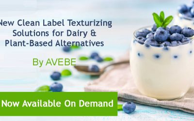 [Free Webinar] Texturizing Solutions & Plant-Based Alternatives