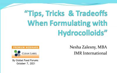 Formulating with Hydrocolloids: Tips & Tradeoffs [Presentation]
